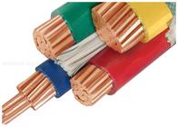 хорошее качество Силовой кабель с изоляцией из сшитого полиэтилена & 1000V медный проводник кабель с ПВХ изоляцией заказной с три с половиной ядра в продаже